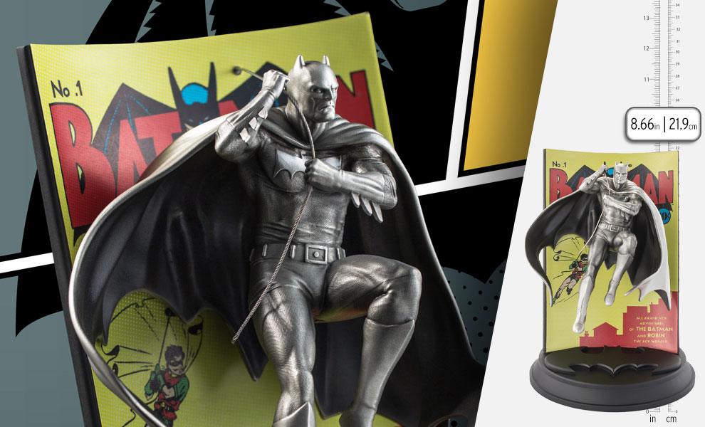 Gallery Feature Image of Batman #1 Limited Edition Figurine Pewter Collectible - Click to open image gallery