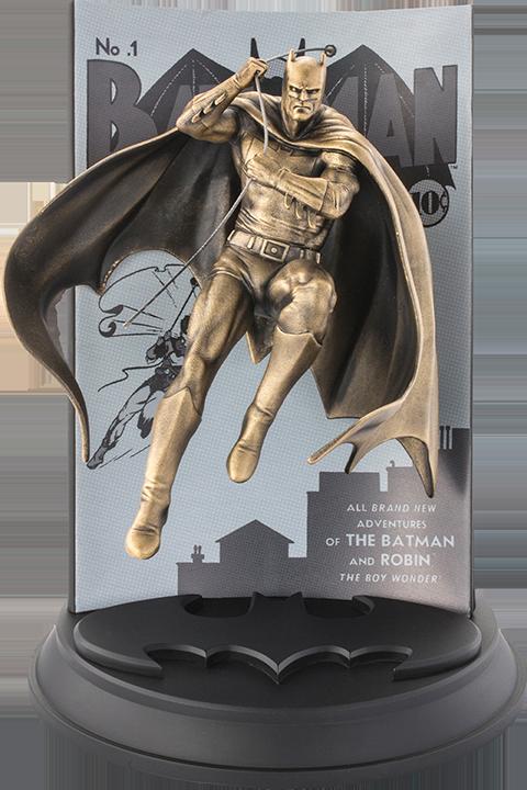 Royal Selangor Batman #1 (Gilt) Figurine Pewter Collectible