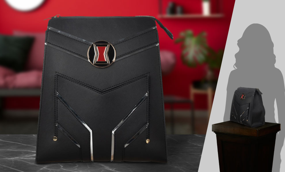 Gallery Feature Image of Black Widow Slim Mini Backpack Apparel - Click to open image gallery