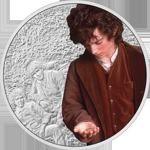 New Zealand Mint Frodo Baggins 1oz Silver Coin Silver Collectible