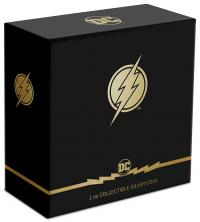 Gallery Image of The Flash Emblem 1oz Silver Coin Silver Collectible