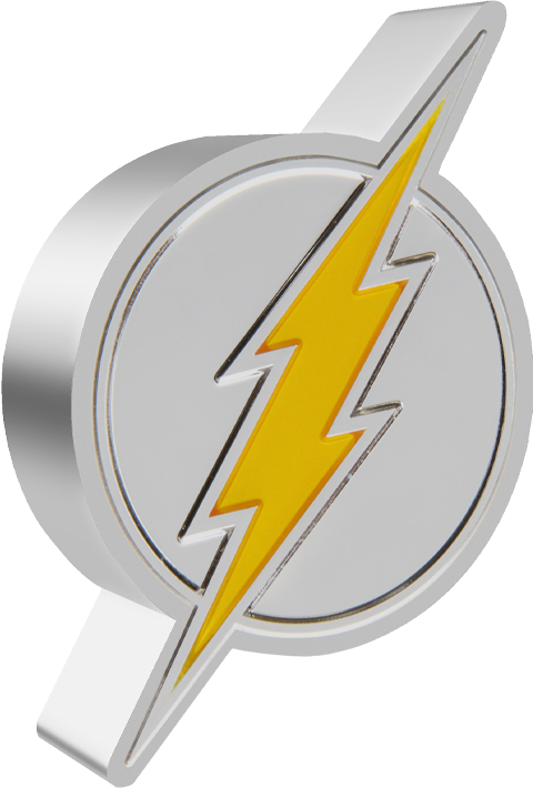 New Zealand Mint The Flash Emblem 1oz Silver Coin Silver Collectible