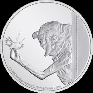 Dobby the House Elf 1oz Silver Coin Silver Collectible