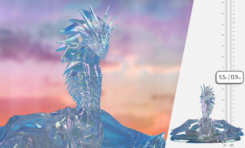 Gallery Feature Image of Aurene Dragon Statue - Click to open image gallery