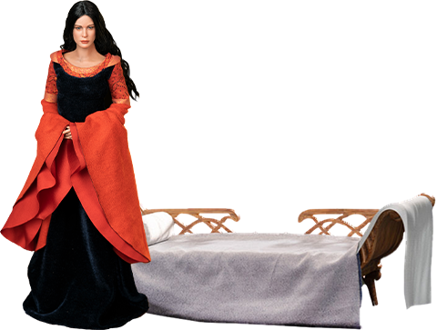 Asmus Collectible Toys Arwen in Death Frock Sixth Scale Figure