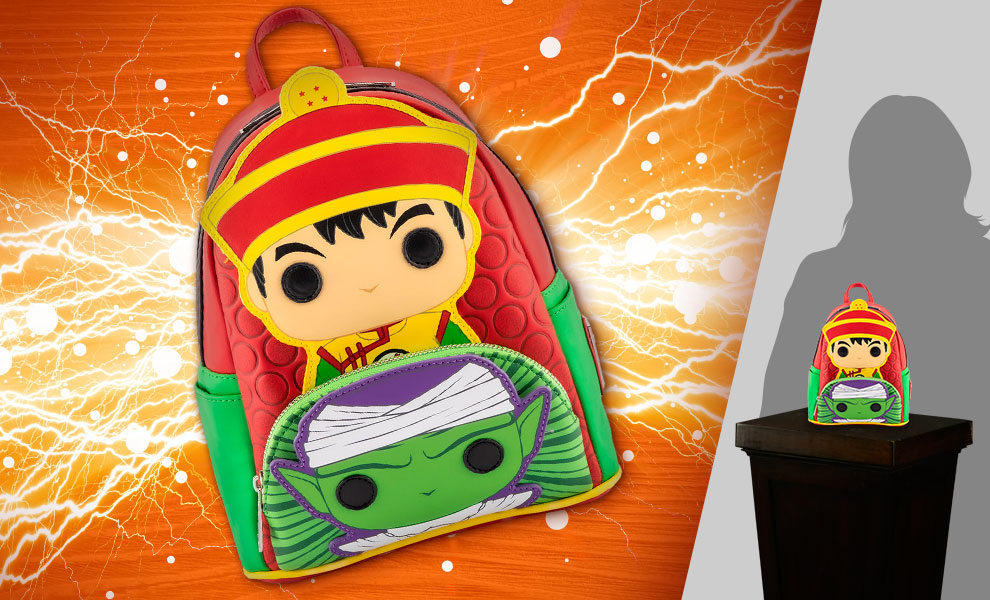 Gallery Feature Image of Gohan Piccolo Mini Backpack Apparel - Click to open image gallery