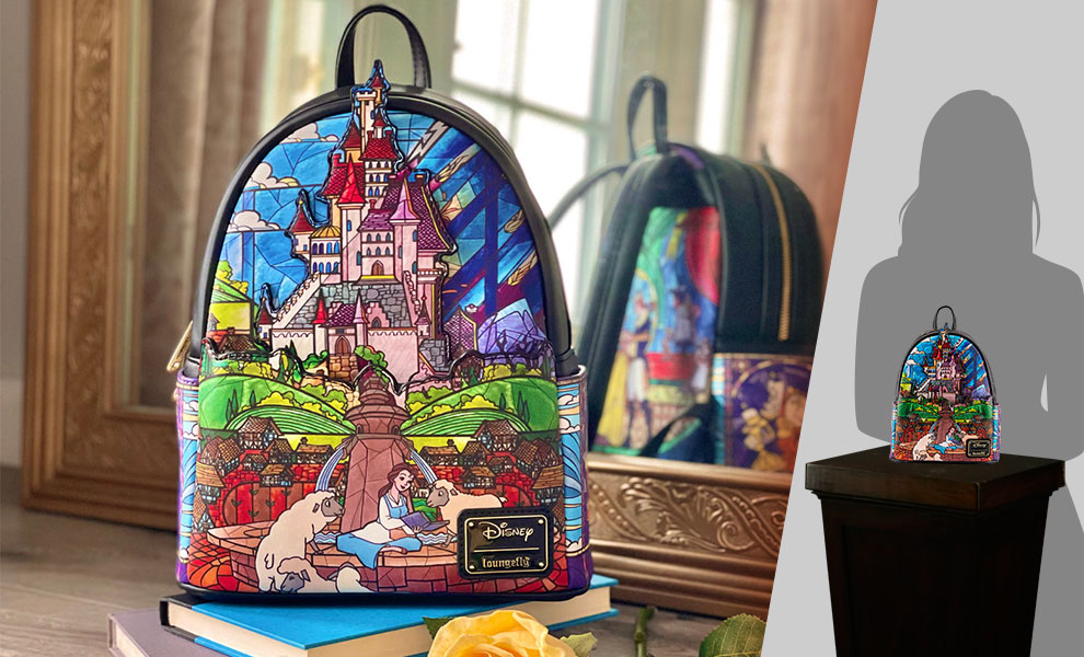 Gallery Feature Image of Belle Castle Collection Mini Backpack Apparel - Click to open image gallery