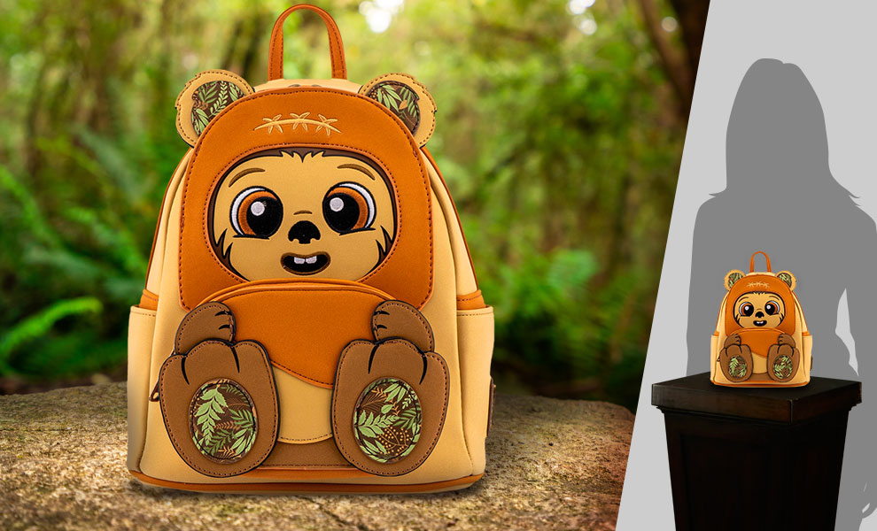 Gallery Feature Image of Wicket Footsie Cosplay Mini Backpack Apparel - Click to open image gallery