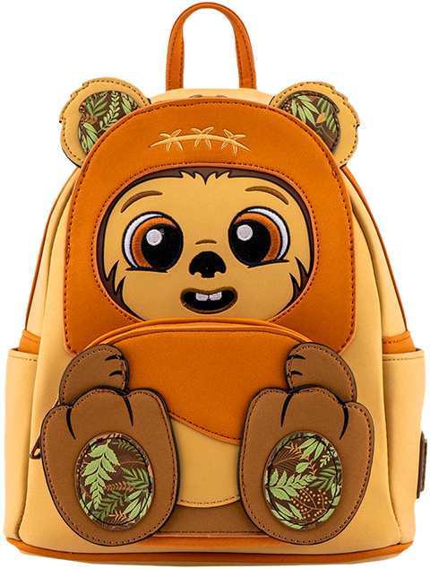 Loungefly Wicket Footsie Cosplay Mini Backpack Apparel