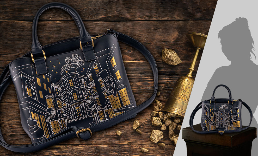 Gallery Feature Image of Diagon Alley Crossbody Bag Apparel - Click to open image gallery