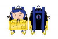 Gallery Image of Coraline Raincoat Cosplay Mini Backpack Apparel