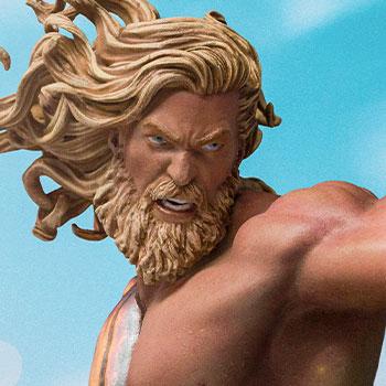 Aquaman Deluxe 1:10 Scale Statue
