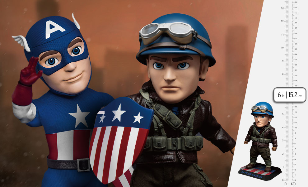 Gallery Feature Image of Infinity Saga Captain America Deluxe Version Action Figure - Click to open image gallery