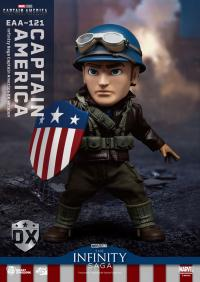 Gallery Image of Infinity Saga Captain America Deluxe Version Action Figure