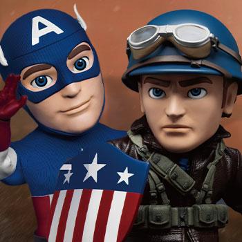 Infinity Saga Captain America Deluxe Version Action Figure