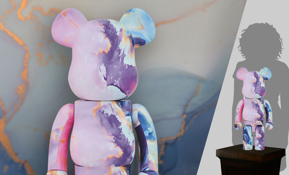 Gallery Feature Image of Be@rbrick Marble 1000% Bearbrick - Click to open image gallery