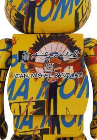 Gallery Image of Be@rbrick Andy Warhol x Jean-Michel Basquiat #3 1000% Bearbrick