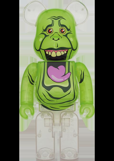 Medicom Toy Be@rbrick Slimer (Green Ghost) 1000% Bearbrick