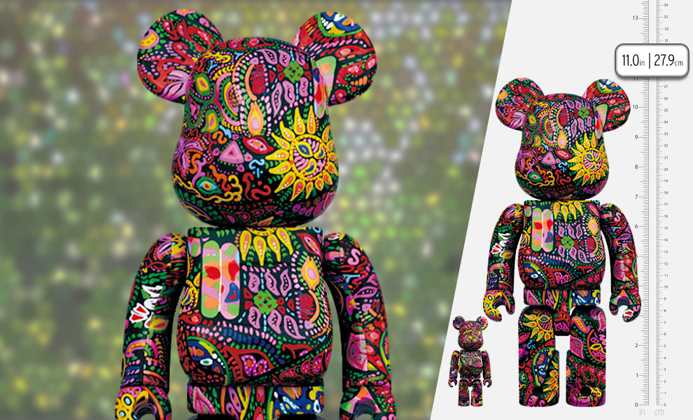 Gallery Feature Image of Be@rbrick Psychedelic Paisley 100% & 400% Collectible Set - Click to open image gallery