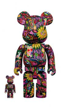 Gallery Image of Be@rbrick Psychedelic Paisley 100% & 400% Collectible Set