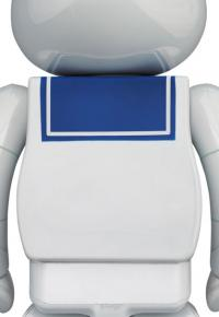 Gallery Image of Be@rbrick Stay Puft Marshmallow Man (White Chrome Version) 100% & 400% Bearbrick