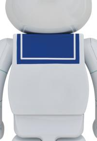 Gallery Image of Be@rbrick Stay Puft Marshmallow Man (White Chrome Version) 1000% Bearbrick