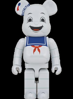 Be@rbrick Stay Puft Marshmallow Man (White Chrome Version) 1000% Bearbrick