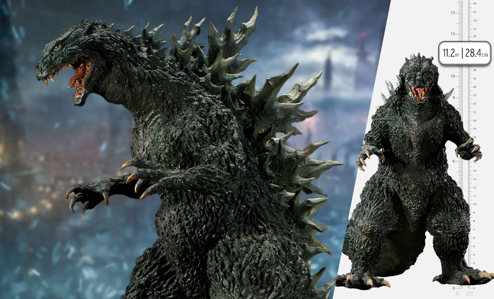 Gallery Feature Image of Godzilla 2000 Millennium Maquette - Click to open image gallery
