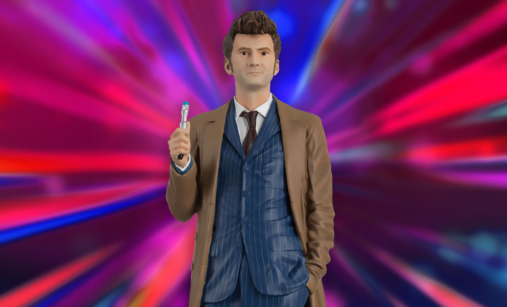 Gallery Feature Image of The Tenth Doctor (David Tennant) Figurine - Click to open image gallery
