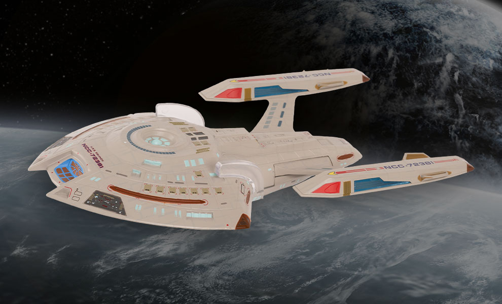 Gallery Feature Image of USS Equinox NCC-72381 (XL) Model - Click to open image gallery