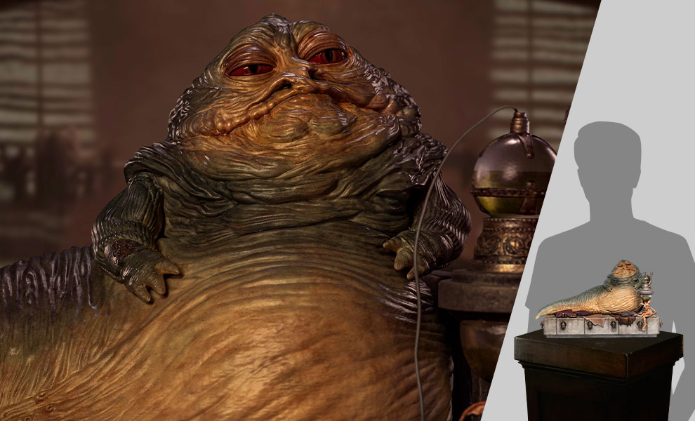 Gallery Feature Image of Jabba the Hutt Deluxe 1:10 Scale Statue - Click to open image gallery