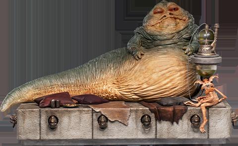 Iron Studios Jabba the Hutt Deluxe 1:10 Scale Statue