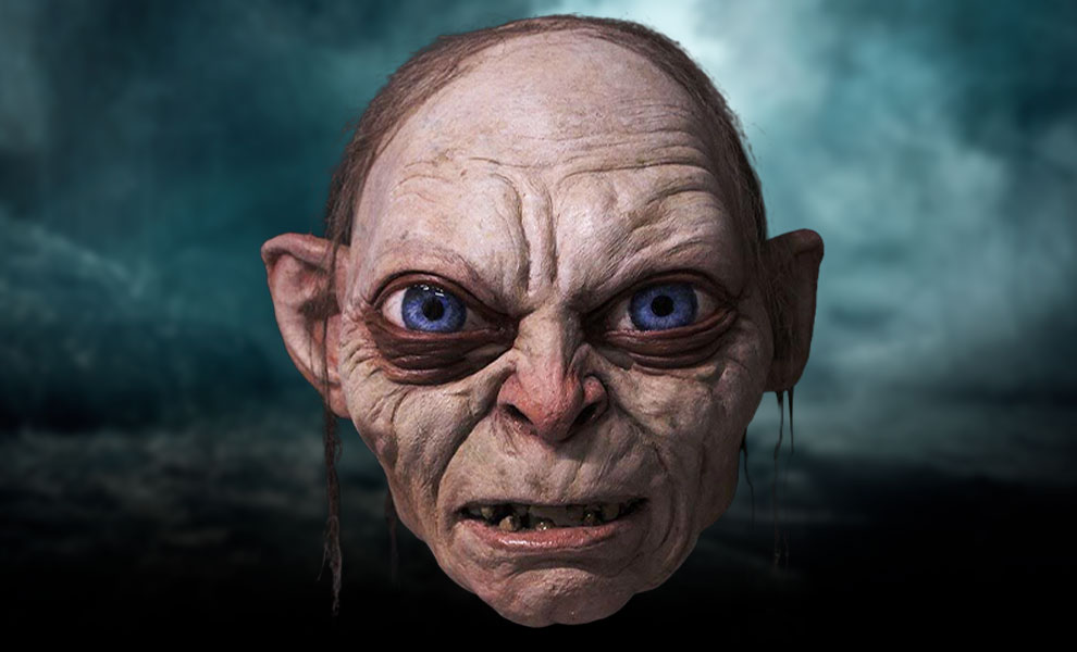 Gallery Feature Image of Gollum Mask Prop Replica - Click to open image gallery