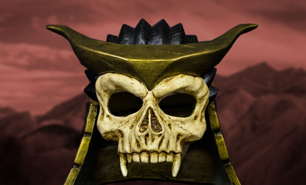 Gallery Feature Image of Shao Khan Mask Prop Replica - Click to open image gallery