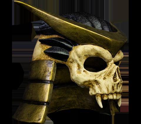 Trick or Treat Studios Shao Khan Mask Prop Replica
