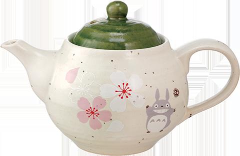 Skater My Neighbor Totoro Sakura (Cherry Blossom) Teapot Kitchenware