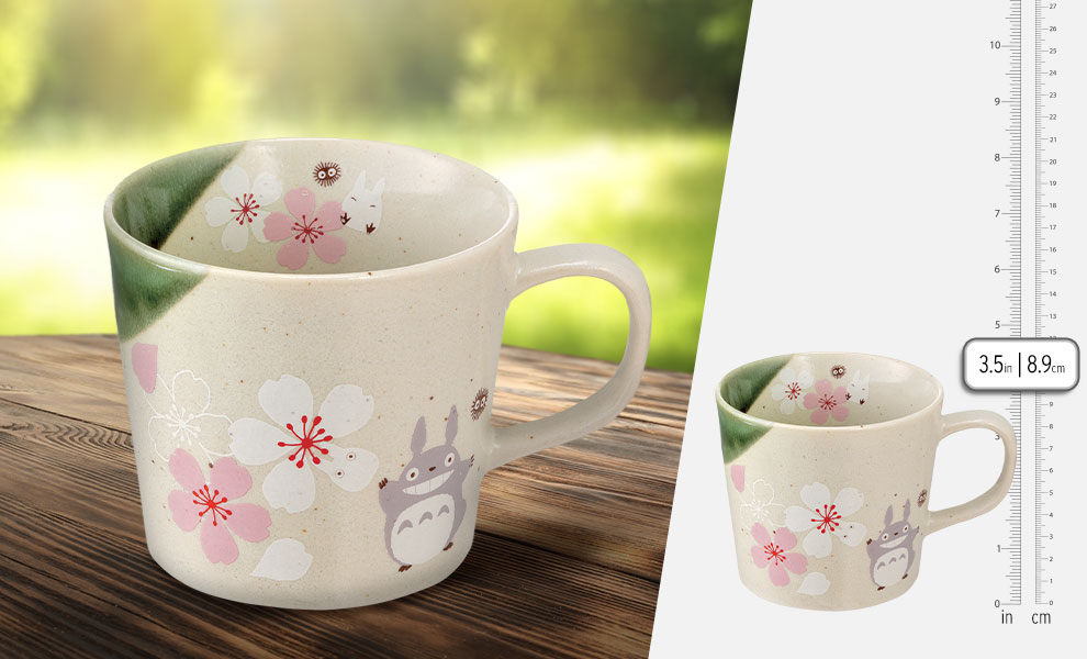 Gallery Feature Image of My Neighbor Totoro Sakura (Cherry Blossom) Mug Kitchenware - Click to open image gallery