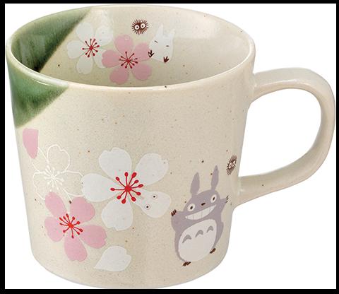 Skater My Neighbor Totoro Sakura (Cherry Blossom) Mug Kitchenware