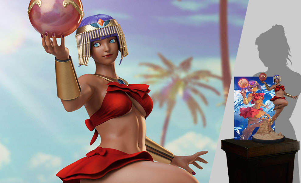 Gallery Feature Image of Menat: Player 2 Statue - Click to open image gallery