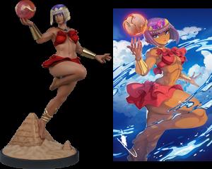Menat: Player 2 Statue