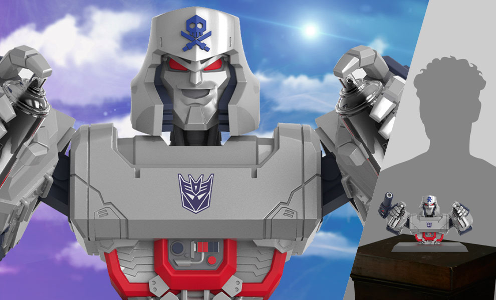 Gallery Feature Image of Transformers X Quiccs: Megatron Bust - Click to open image gallery