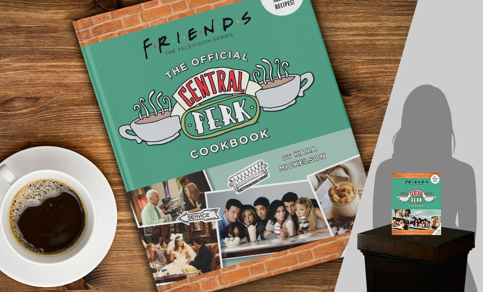 Gallery Feature Image of Friends: The Official Central Perk Cookbook Collectible Set - Click to open image gallery