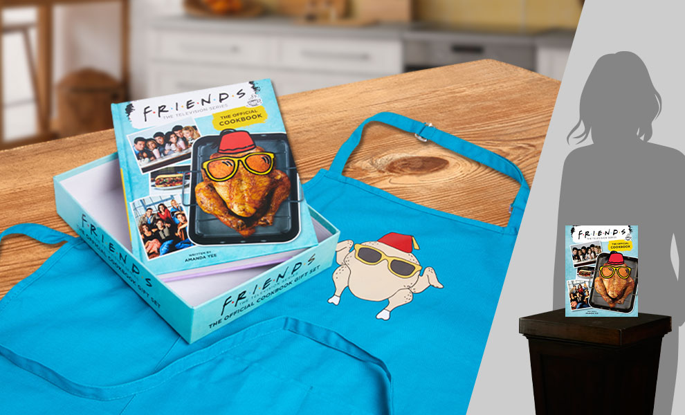 Gallery Feature Image of Friends: The Official Cookbook Gift Set Collectible Set - Click to open image gallery