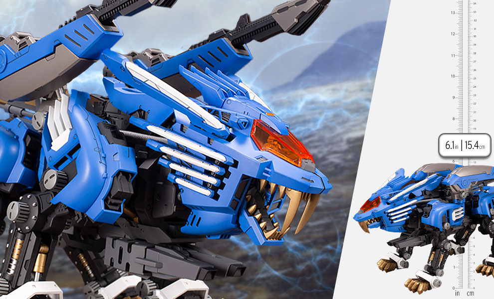 Gallery Feature Image of RZ-028 BLADE LIGER AB Model Kit - Click to open image gallery