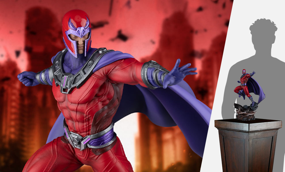 Gallery Feature Image of Magneto Sixth Scale Diorama - Click to open image gallery