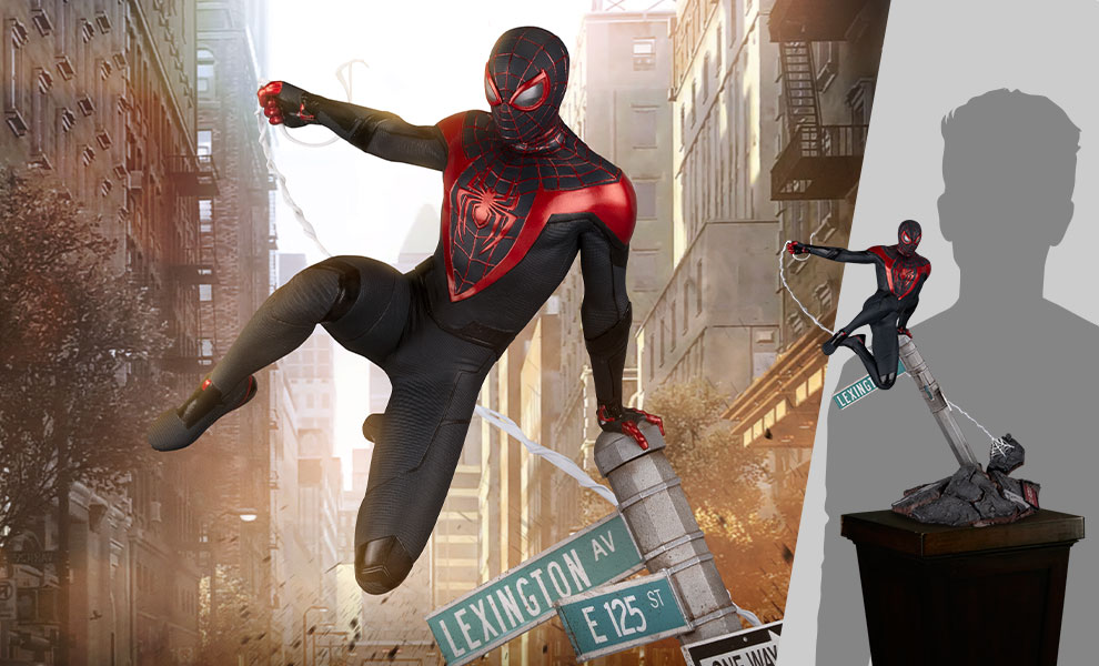 Gallery Feature Image of Spider-Man: Miles Morales Sixth Scale Diorama - Click to open image gallery
