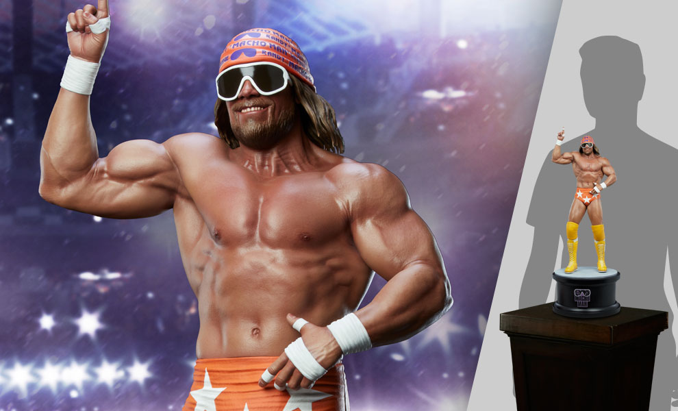 """Gallery Feature Image of """"Macho Man"""" Randy Savage Statue - Click to open image gallery"""