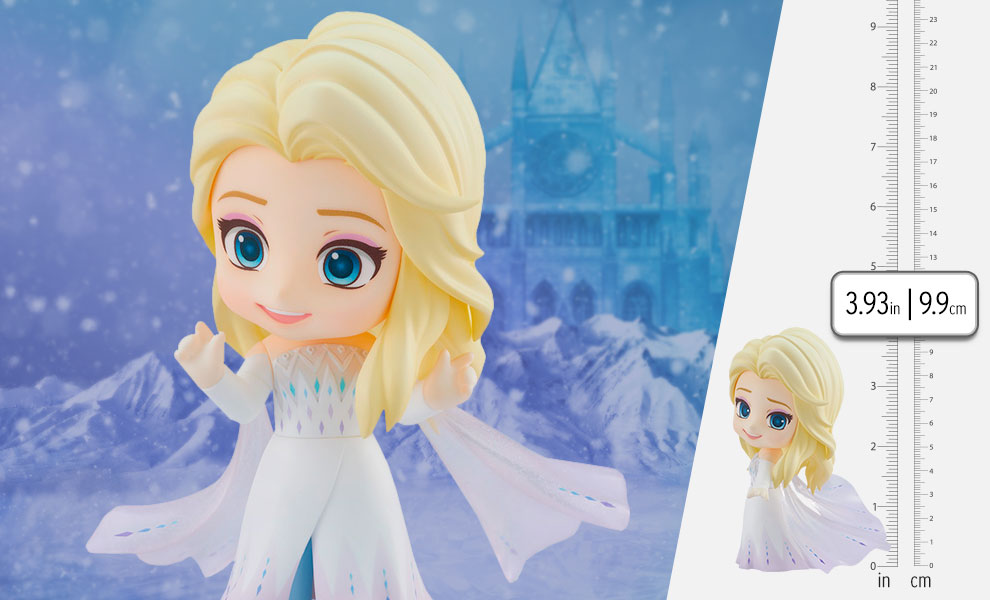 Gallery Feature Image of Elsa: Epilogue Dress Version Nendoroid Collectible Figure - Click to open image gallery