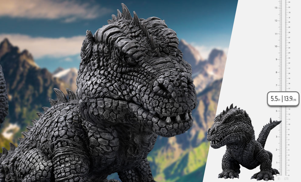 Gallery Feature Image of Rhedosaurus Black and White Version Collectible Figure - Click to open image gallery