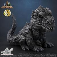 Gallery Image of Rhedosaurus Black and White Version Collectible Figure